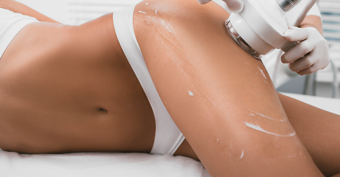 Cellulite laser treatment system