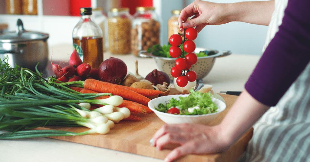 organizing your kitchen to promote healthy eating