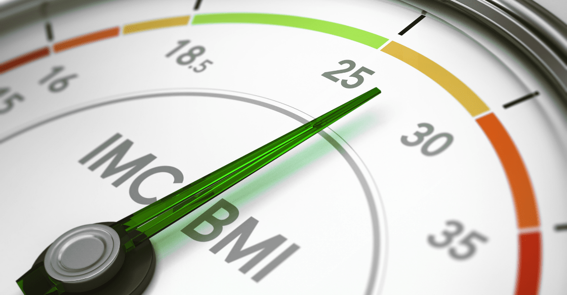 A BMI scale used to determine if a patient qualifies for Lap-Band surgery.